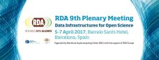 RDA 9th Plenary Meeting image